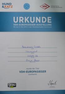 VDH-Europasieger